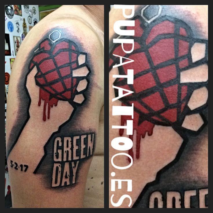 https://flic.kr/p/M7F3rc | Tatuaje Green Day Pupa Tattoo Granada | by Marzia Instagram : instagram.com/pupa_tattoo/ Web: www.pupatattoo.es/ Citas: 958221280 #tattoo #tattoos #tatuaje #tatuajes #tattoogranada #ink #inked #inkaddict #timetattoo #tattooart #tattooartists
