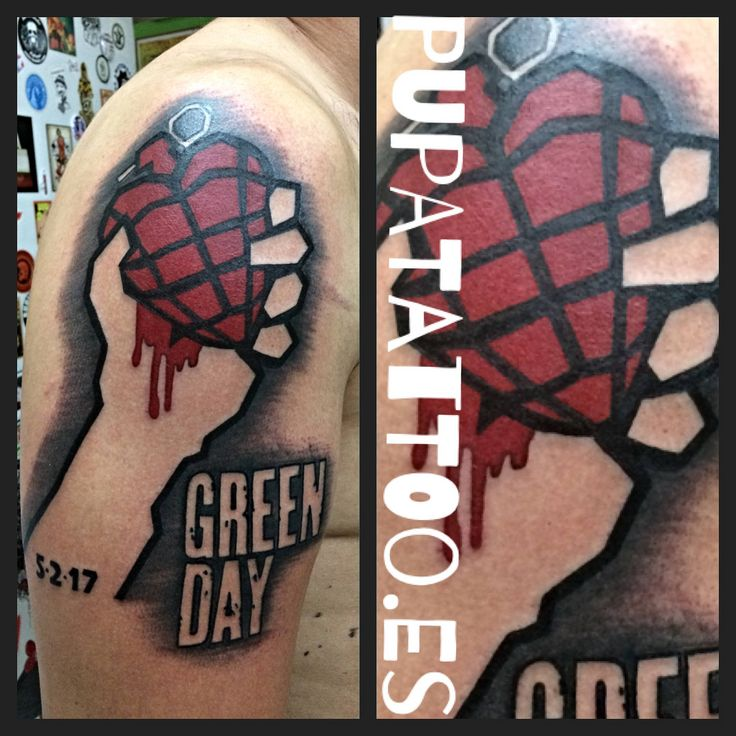 https://flic.kr/p/M7F3rc | Tatuaje Green Day Pupa Tattoo Granada | by Marzia Instagram : instagram.com/pupa_tattoo/ Web: www.pupatattoo.es/ Citas: 958221280 #tattoo #tattoos #tatuaje #tatuajes #tattoogranada #ink #inked #inkaddict #timetattoo #tattooart #tattooartists