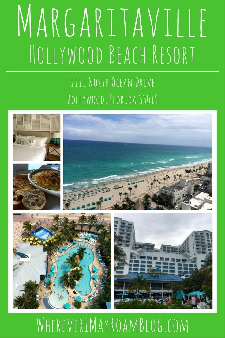 The Margaritaville Hollywood Beach Resort is a fun place to enjoy beachfront accommodations with dozens of amenities in South Florida. Plus it is stunning!