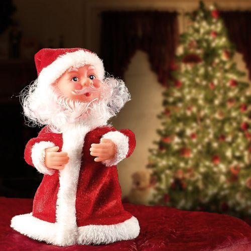 Tanzender Mini Weihnachtsmann