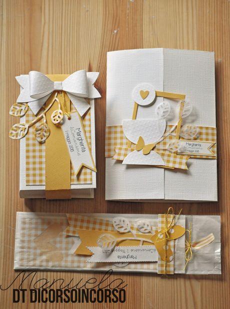 Ensemble en jaune et blanc pour une communion: http://www.dicorsoincorso.it/2015/04/23/comunione-in-bianco-e-giallo/
