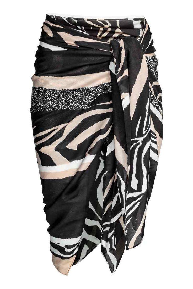 Patterned sarong - Zebra pattern - Ladies | H&M 1
