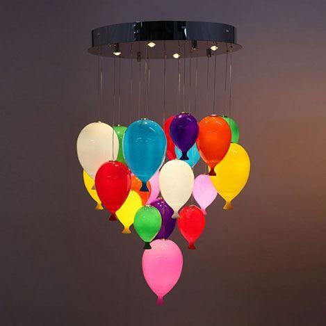 1.230,00tl Lumexx 20'li Ledli Balon Avize - Renkli