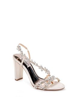 77da6eae9880 Felda Crystal Embellished Strappy Evening Shoe Evening Shoes