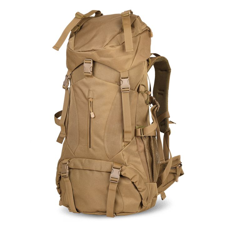 Top Quality Trekking Rucksack camp hike travel double-shoulder backpack Black climb bag for climb military