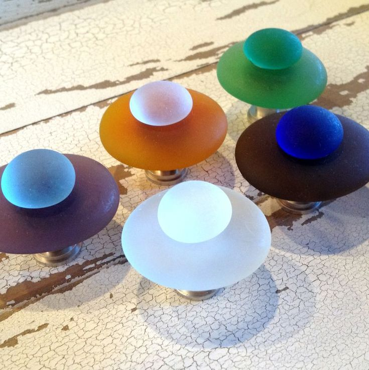 Beach Glass Drawer Pulls Part - 29: Beach Glass Cabinet Knob Drawer Pull $11 - Product Images Of