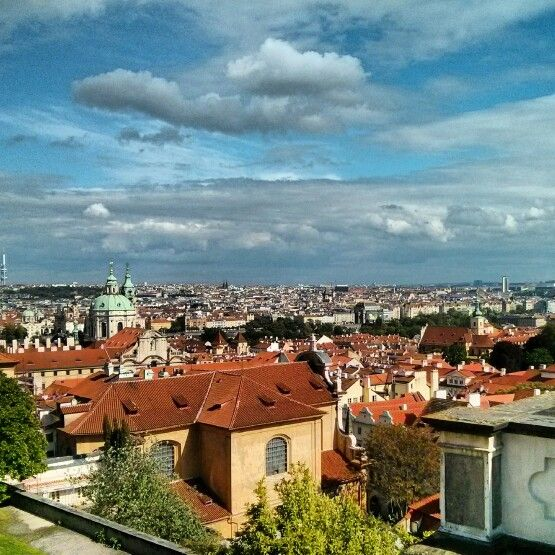 From Prague Castle