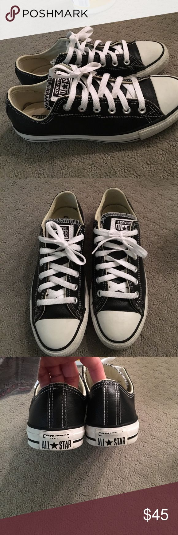 Converse shoes sz  mens 7 = 8 Converse men's shoes size 7men's they run a size big so they are 8 worn only a few times great condition Converse Shoes Sneakers