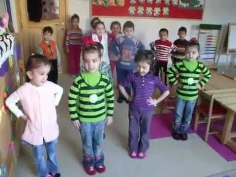 Saatim Çaldı Ront Şarkılar İle Yaratıcılık Okul Öncesi Orff Eğitimi - YouTube
