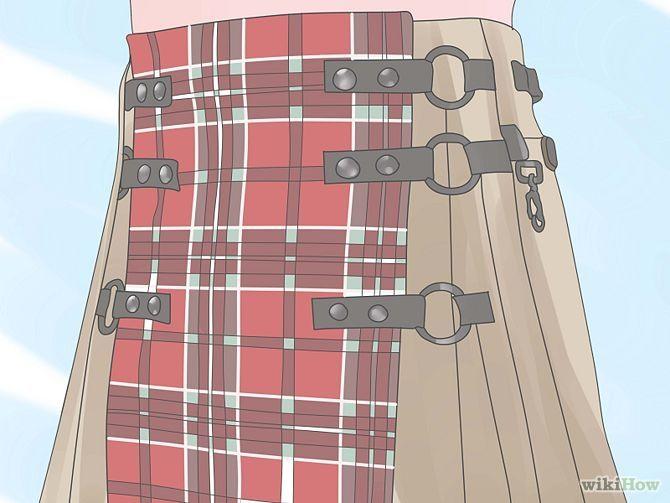 How to make a kilt