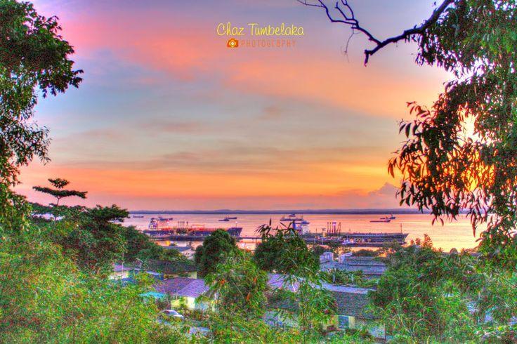 Sunset from Gunung Balikpapan