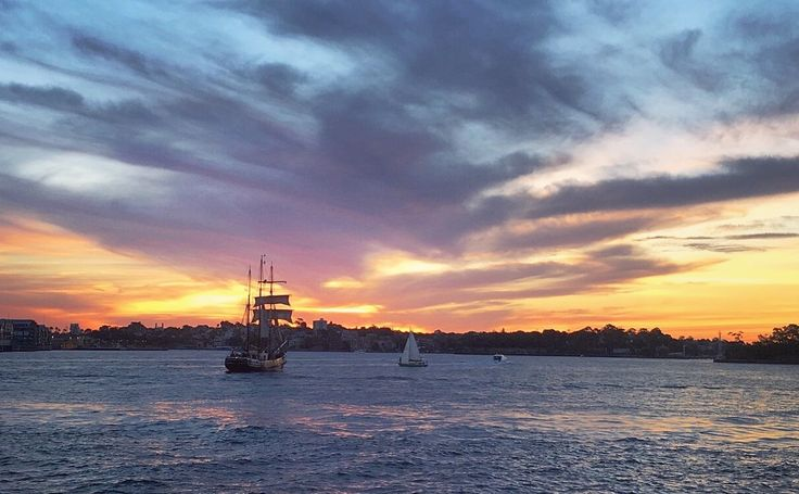 Sydney sunset - Harbour