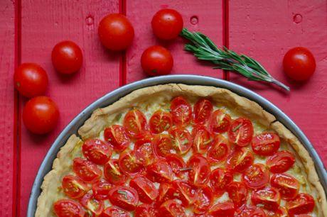 Cherrytomaten Tarte (glutenfrei)