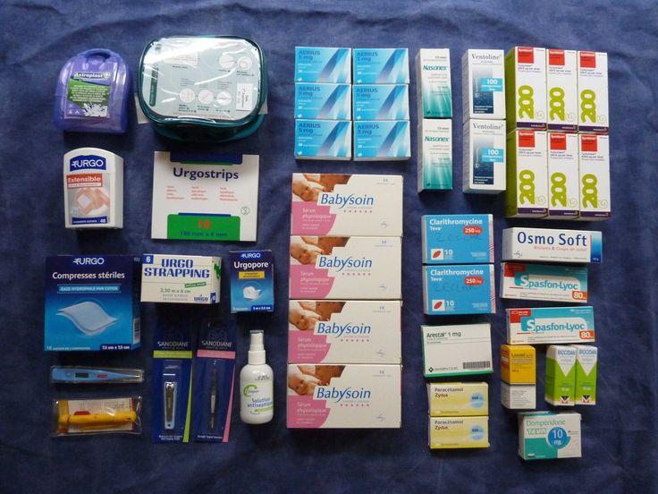 Les indispensables d'une bonne trousse à pharmacie de voyage.