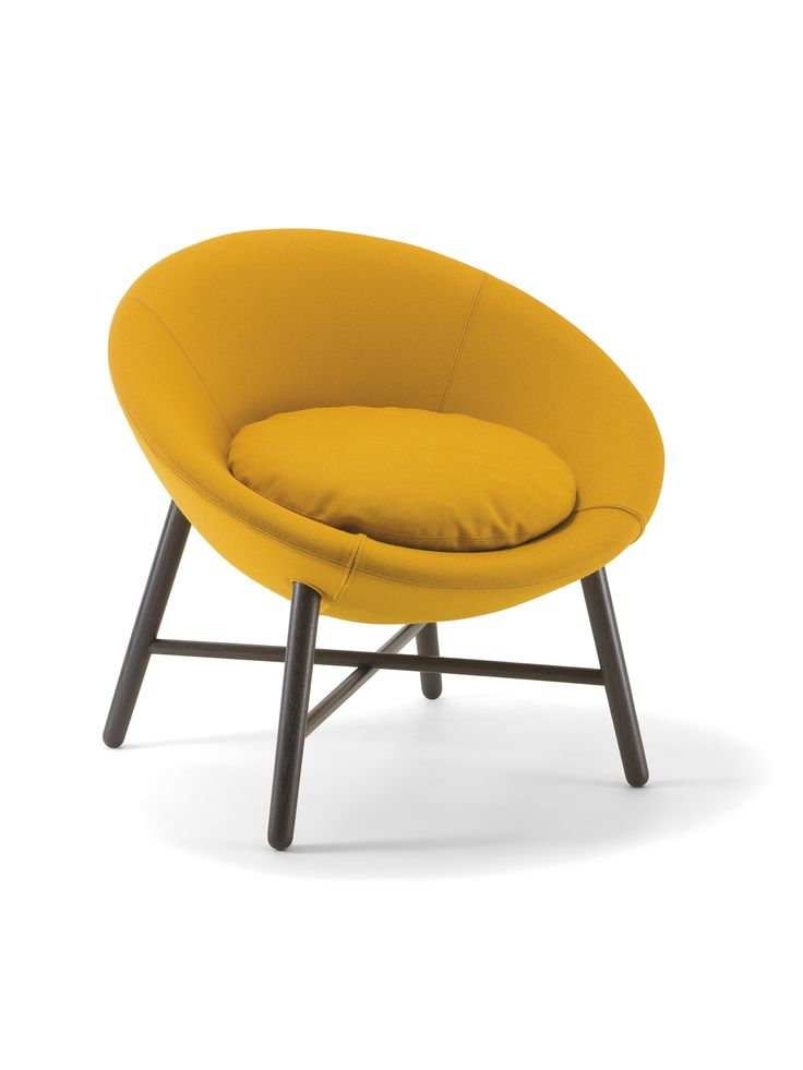 Easy chair Cocoon 1660 PO, by Cizeta
