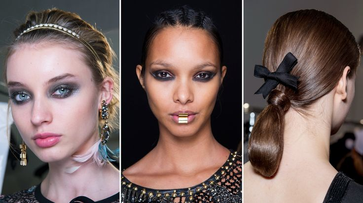 The Best Beauty Looks From Paris Fashion Week Fall 2017   Allure