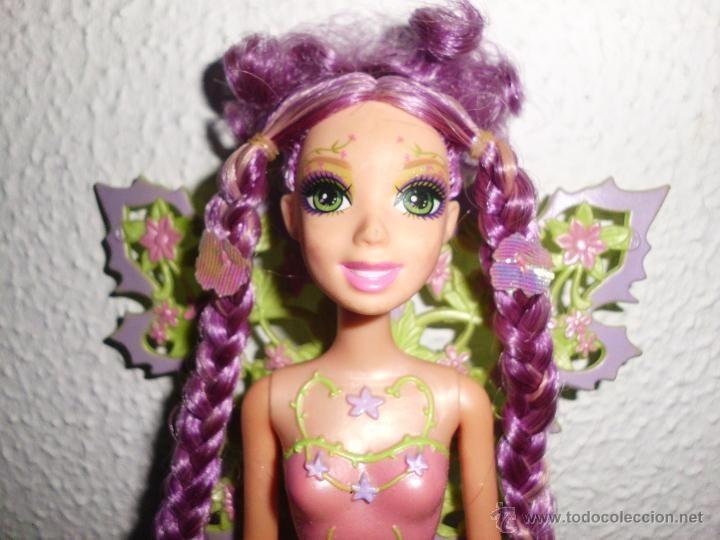preciosa muñeca barbie hada mariposa glee de pelicula barbie magia de arcoiris