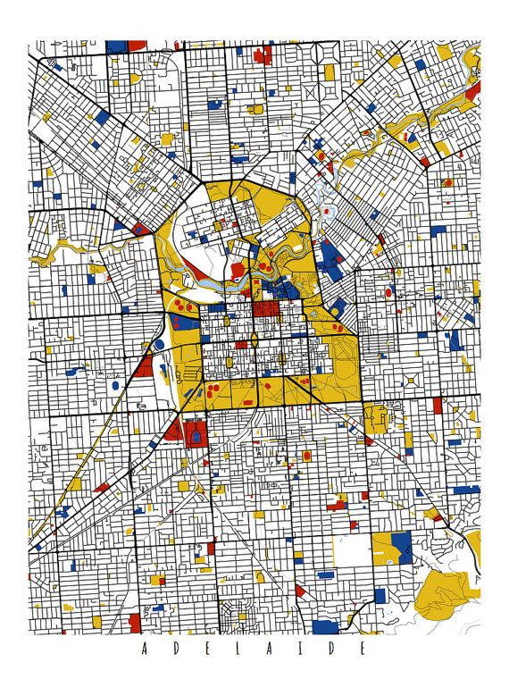Adelaide australia cartographic design pinterest for Urban design adelaide