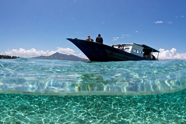 Bunaken, North Sulawesi, Indonesia. Pristine reefs, clear waters, and diversity of undersea life.