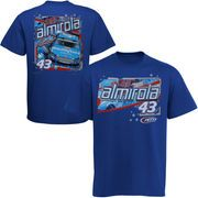 cool Aric Almirola Chase Authentics Drive T-Shirt – Royal Blue