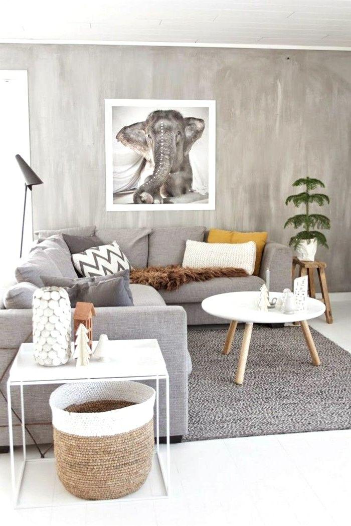 ideas de decoración de la pared bohemia 1001 Ideas Sobre Decoracin Saln Gris Y Blanco