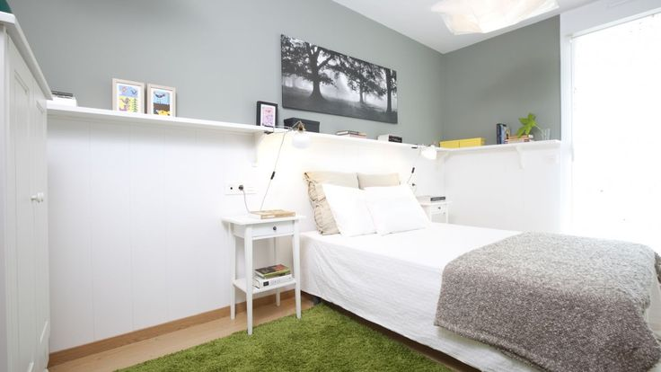 Dormitorio de pareja fresco y elegante - General