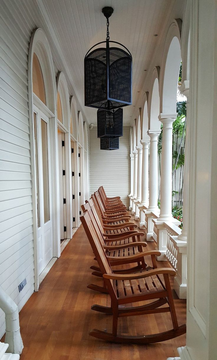 The plantation lanai at Waikiki's oldest hotel, the Moana Surfrider