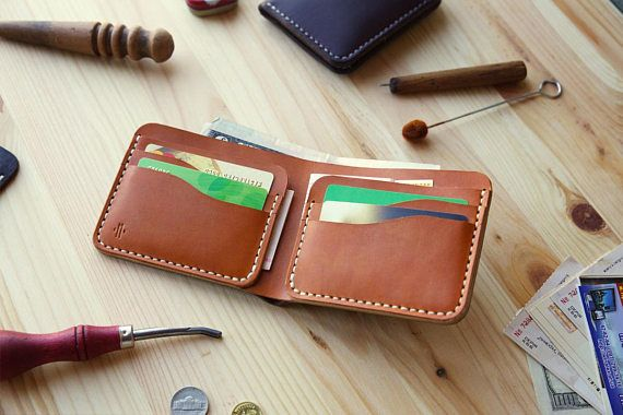 Horween Chromexcel Bifold Wallet Men's Classic Leather