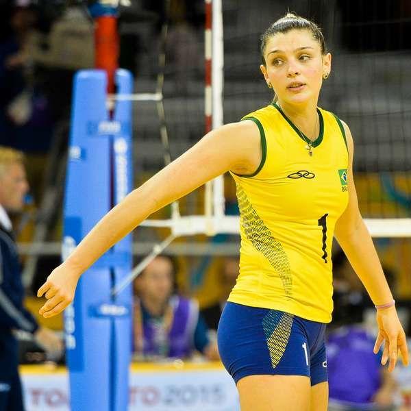 Rosamaria Montibeller Brazilian Volleyball Player