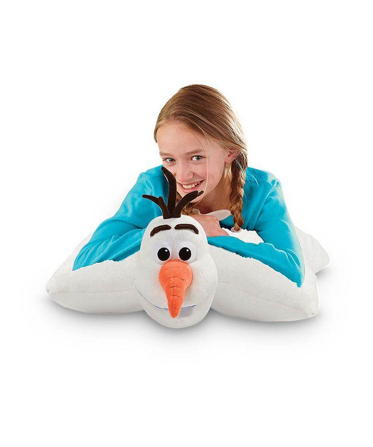 Cute Olaf Pillow : Olaf 18 Pillow Pet zulily Math Fair- Frozen/Math is Cool Pinterest Pets, Olaf and Pillows