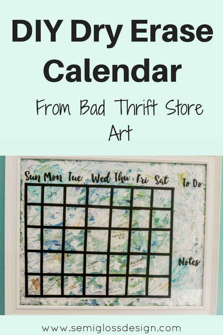 Diy Calendar Dry Erase : Best office calendar ideas on pinterest dry erase