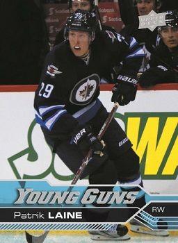 Patrick Laine Upper Deck Young Guns