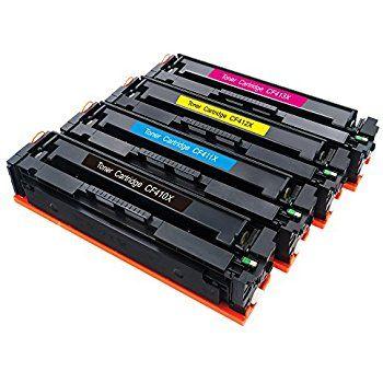 Toner HP 410A et 410X. Pour imprimante HP à usage professionnel.