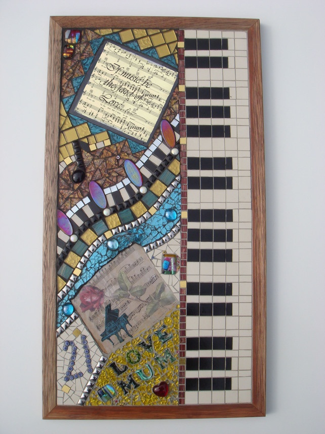 Mosaic Wall Art MADE TO ORDER - Folksy | Craft Juice