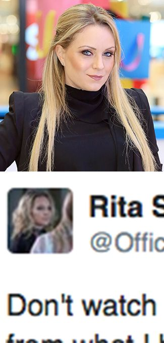 Rita Simons is upset with how EastEnders is dealing with her character Roxy Mitchell's death...