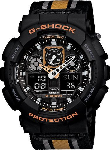 GA100MC-1A4 - Classic - Mens Watches | Casio - G-Shock - mens designer gold watches, mens watches best brands, cheap nice mens watches