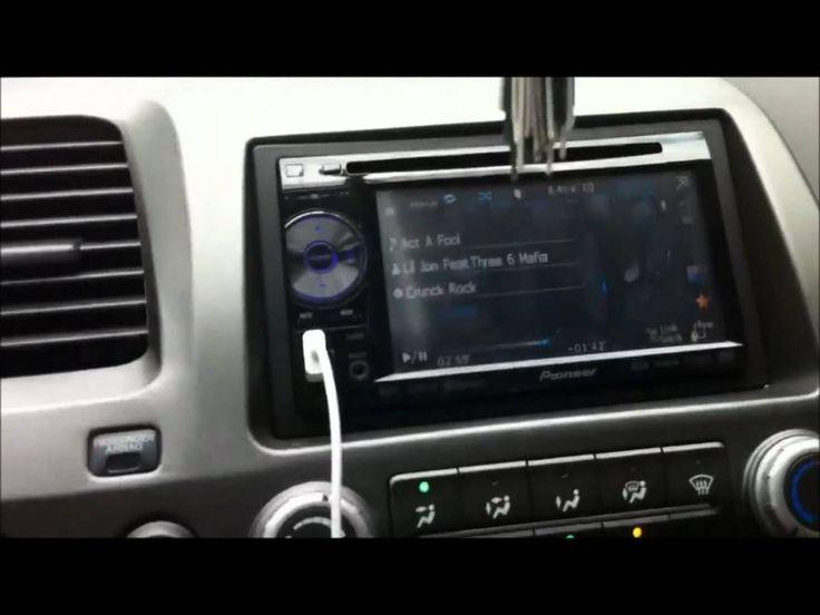 2007 Honda Civic Stereo Build - YouTube