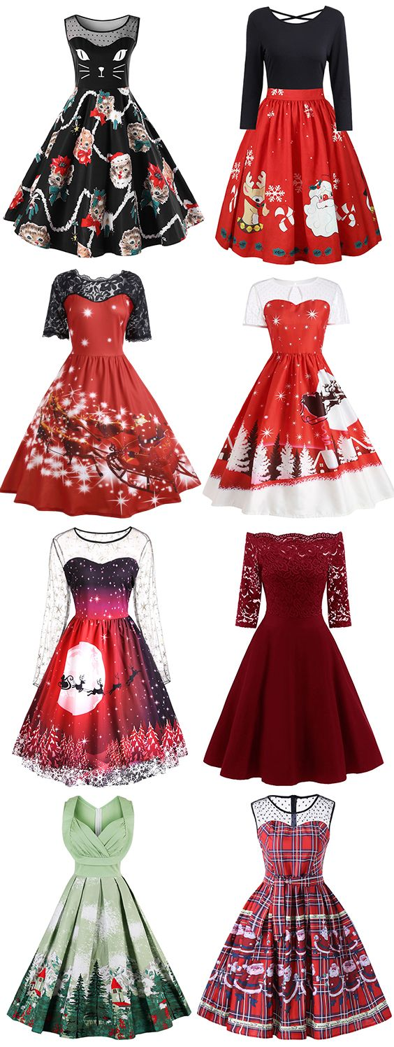 50% OFF Christmas Dresses,Free Shipping Worldwide