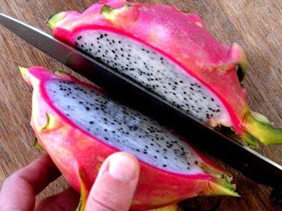 how to eat dragon fruit in telugu