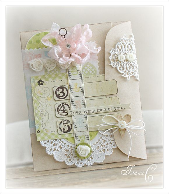 Card created using the Simple Stories Baby Steps collection!