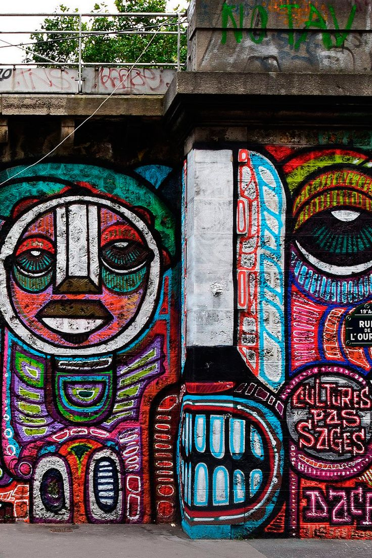 Design, art, poetry, protest… All this things are about people expression. Street art is neither right nor wrong. That's all on the aim of the piece. ➤ http://mortimerland.com/blog-corporate-branding-designers/the-influence-of-graphic-design-on-street-art/ | #graffiti #art #design