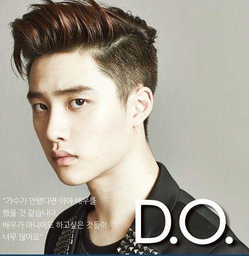 beautiful hair of D.O