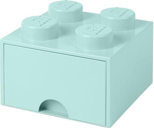LEGO Förvaring med låda 4, Turkos