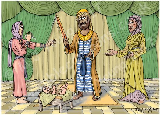 1 Kings 03 - Solomon's wise ruling - Scene 02 - Verdict