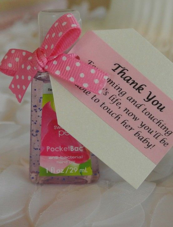 Baby Shower Favor - Hah, I like this one!