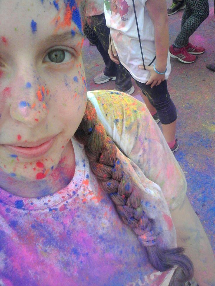 #ColourMeRunMarathon #coulorlife
