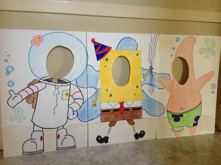 Spongebob party for Chris