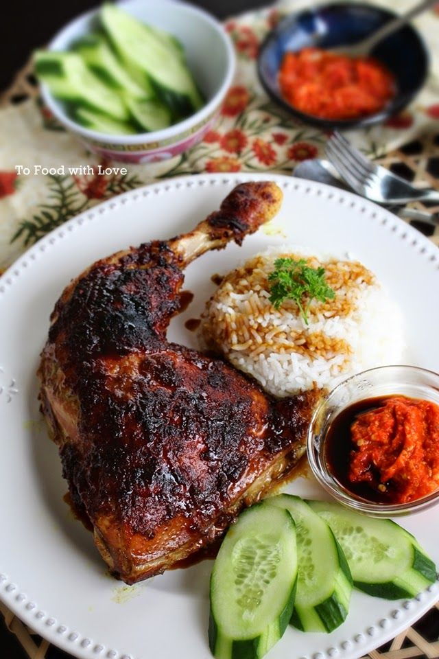 To Food with Love: Ayam Bakar (Indonesian Grilled Chicken)