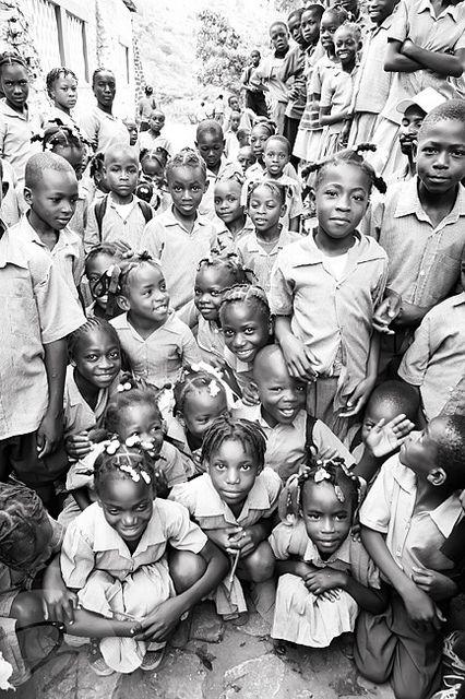 amazing children of Haiti