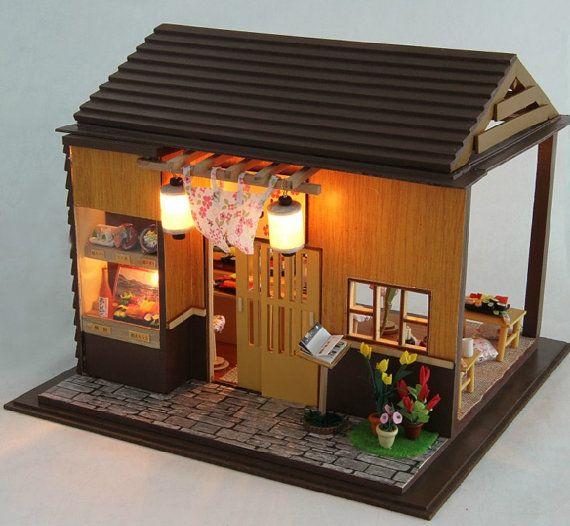 Hey, I found this really awesome Etsy listing at https://www.etsy.com/listing/209707917/miniature-dollhouse-diy-kit-sakura-sushi